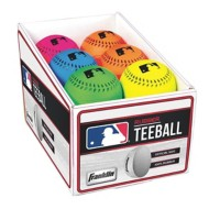 Franklin MLB Rubber Neon Probrite T-Ball