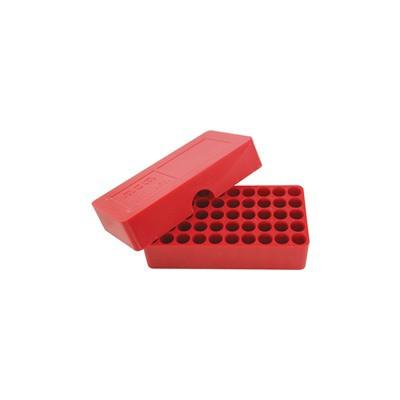 MTM  Slip-Top Ammo Box 50 Round Round Hole 38 - 357