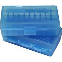 MTM Case-Gard 50 Round Flip Top Pistol Ammo Box