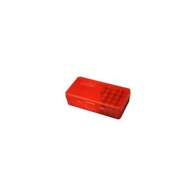 MTM  Ammo Box 50 Round Flip-Top 38 - 357