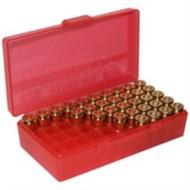 MTM  Ammo Box 50 Round Flip-Top 9mm 380 ACP