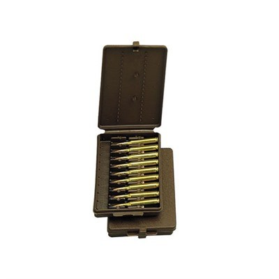 MTM Rifle Ammo Wallet 9rd for .22-.30-30 brown