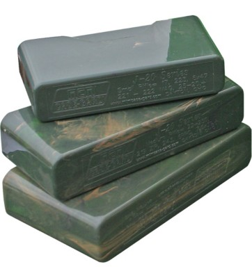 MTM Case-Gard Sliptop 20-Round Rifle Ammo Box