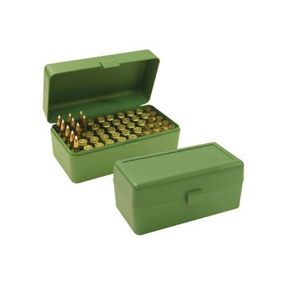 MTM  Ammo Box 50 Round Flip-Top 300 WSM 45-70 7mm R SAUM