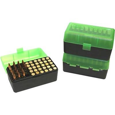 MTM  Ammo Box 50 Round Flip-Top 375 Rem UM 375 Wby Mag