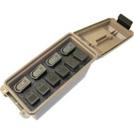 Tactical Mag Can -for 10 Double Stacked Handgun Mags Dk Ea