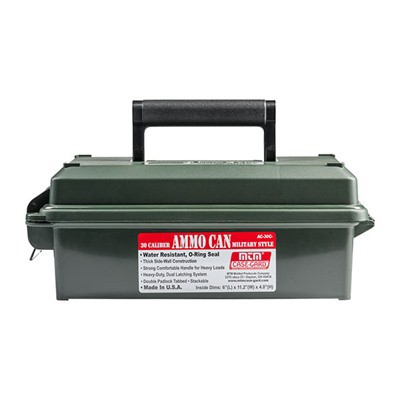 MTM Ammo Can 30 Caliber-Forest Green