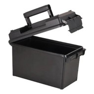 Military Style Ammo Can .50 Caliber Black