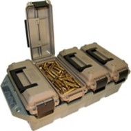 MTM 4-Can Ammo Crate 30 Cal Dark Earth