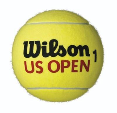 """Wilson US Open Mini Jumbo 5"""" Tennis Ball"""