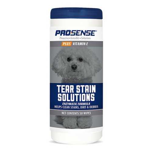 Pro-Sense Plus Tear Stain Solution Wipes 50 Count