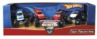 Hot Wheels MOnster Jam Tour Favorite 4 Pack
