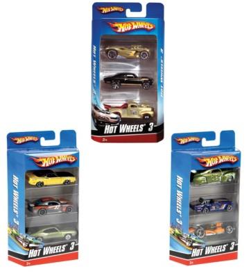 Mattel Hot Wheels 3-Pack Toy Car