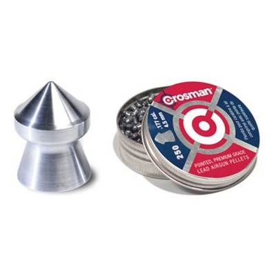 Crosman .177 Caliber Pointed Pellets 250 Count