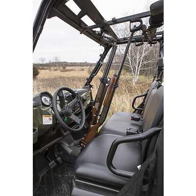 Kolpin UTV Vertical In-Cab Gun Rack Universal