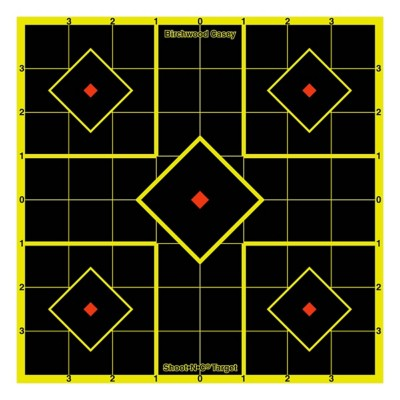 "Birchwood Casey Shoot-N-C 8"" Sight-In Target 6 Pack"