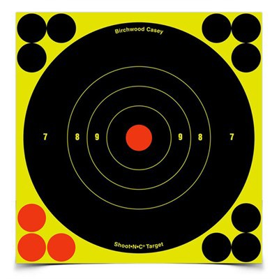 "Birchwood Casey Shoot-N-C 6"" Round Target 60 Pack"