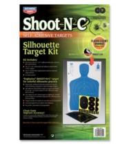Birchwood Casey Shoot-N-C Silhouette Target Kit