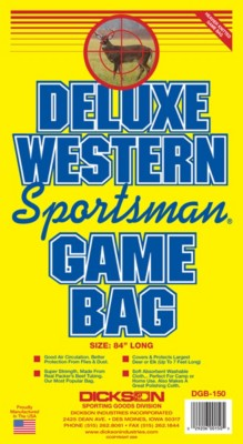 Dickson Deluxe Western Sportsman's Deer Bag' data-lgimg='{