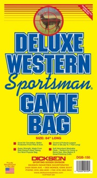 Dickson Deluxe Western Sportsman's Deer Bag