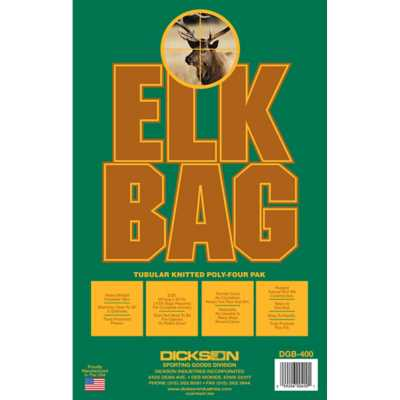 Dickson Elk Game Bags 4-Pack