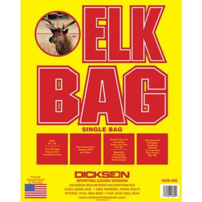 Deluxe Western Sportsman's Elk Bag