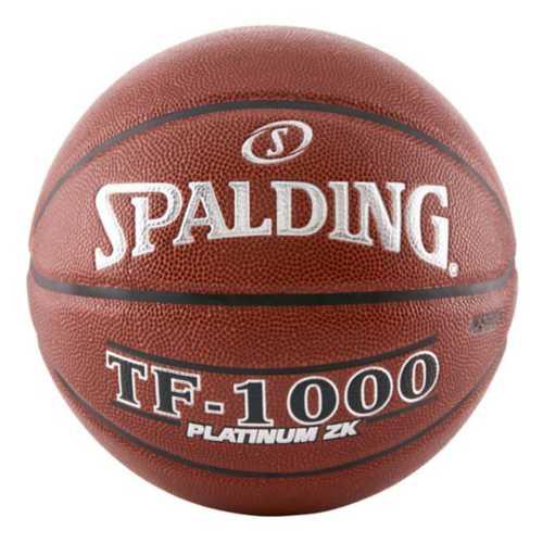 Spalding TF-1000 Platinum ZK Indoor Game Basketball
