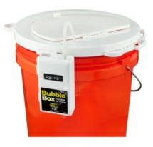 Marine Metal Products Bubbles Top Bait Bucket Lid