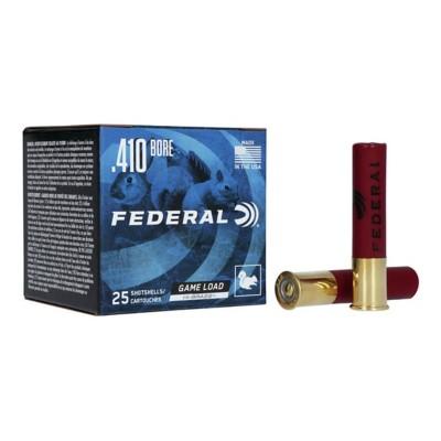 "Federal Game Shok Hi Brass 410 2.5"" 1/2oz #6 25/bx"
