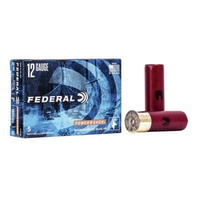 "Federal Power Shok 12ga 3"" 1-1/4oz Slug 5/bx"