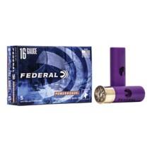 "Federal Power Shok 16ga 2.75"" 4/5oz Slug 5/bx"