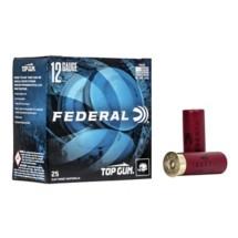"""Federal Top Gun 12ga 2.75"""" 1-1/8oz #8 25/bx"""