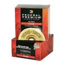 "Federal Wing Shok HV 20ga 2.75"" 1oz #5 25/bx"