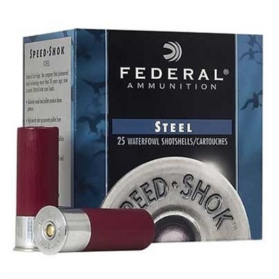 "Federal Speed Shok HV Steel 20ga 2.75"" 3/4oz #6 25/bx"