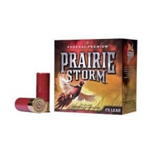 "Federal Prairie Storm FS Lead 12ga 2.75"" 1-1/4oz #4 25/bx"