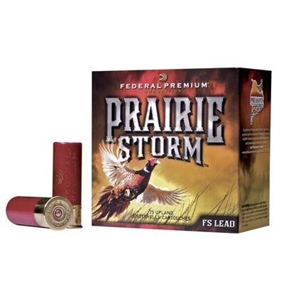 "Federal Prairie Storm FS Lead 12ga 3"" 1-5/8oz #6 25/bx"