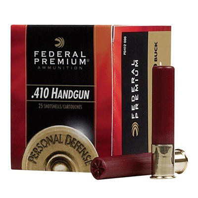 "Federal Personal Defense  410 3"" 9 Pel #4B 20/bx"