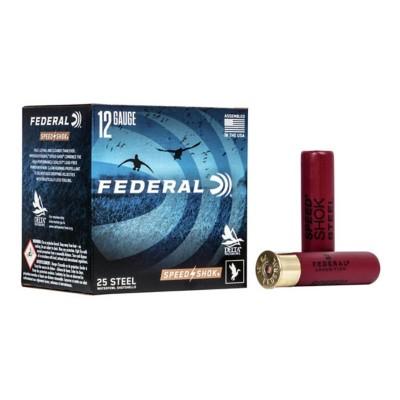 "Federal Speed Shok HV Steel 12ga 3"" 1-1/8oz #BBB 25/bx"