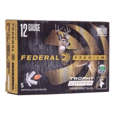 Federal Vital-Shok Trophy Copper Sabot Slug 12 Ga 2-3/4