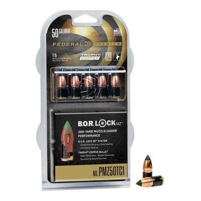 Federal Trophy 50 Cal. 270g Copper Muzzleloader Bullets 15-Pack' data-lgimg='{