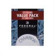 Federal Ammo 22 LR HP 36gr.Copper Plated HV 525/box