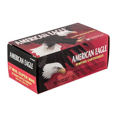 Federal American Eagle 17 Win Super Mag 20gr Tipped 50/bx' data-lgimg='{