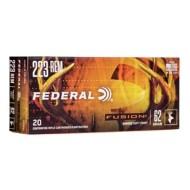 Federal Fusion 223 Rem 62gr 20/bx