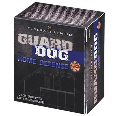 Federal Guard Dog 45 ACP +P 165gr Expanding FMJ 20/bx