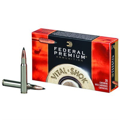 Federal Vital Shok 270 WSM 130gr Trophy Copper 20/bx