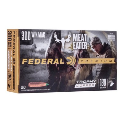 Federal Vital-Shok 300 Win Mag 180gr Trophy Copper 20/bx