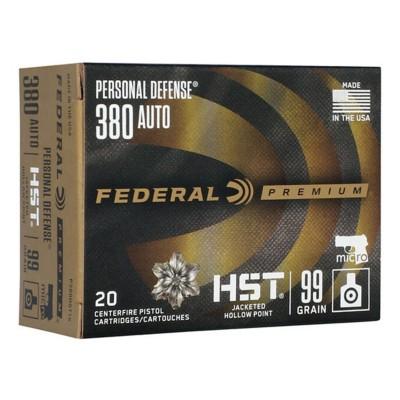 Federal Personal Defense 380 99gr HST 20/bx' data-lgimg='{