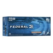 Federal Power Shok 223 Rem 55gr SP 20/bx