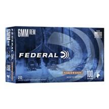 Federal Power Shok 6mm Rem 100gr SP 20/bx