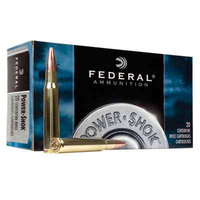 Federal Power Shok 7mm Mauser 140gr SP 20/bx